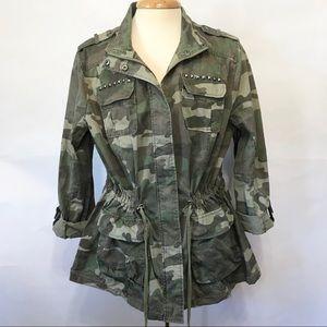 I.N.C. Camouflage Jacket Sz 2X